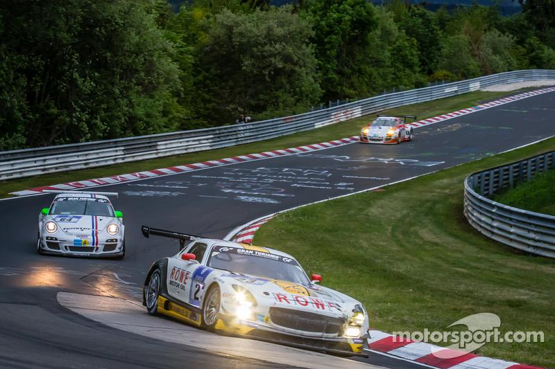 #23 Rowe Racing, Mercedes-Benz SLS AMG GT3: Klaus Graf, Christian Hohenadel, Nico Bastian, Thomas Jäger
