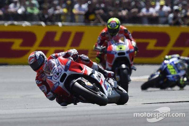 Andrea Dovizioso und Andrea Iannone, Ducati Team