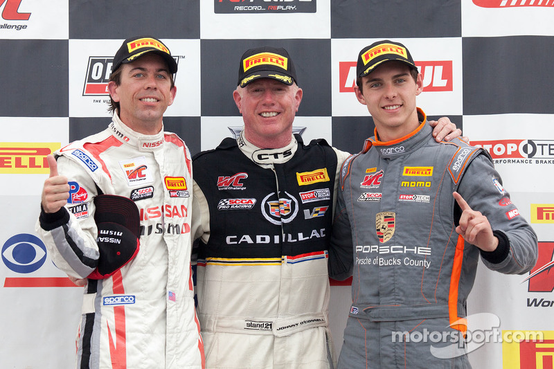 Klassensieger: GTA-Sieger: Bryan Heitkotter, GT-Sieger: Johnny O'Connell, GT-Cup-Sieger: Colin Thompson