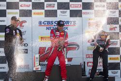 TCA Podyum: Yarış galibi Felipe Merjech, ikinci Patrick Seguin, üçüncü Emilee Tominovich