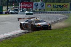 #19 Stephen Cameron Racing Audi R8 LMS Ultra: Drew Regitz розвертає машину