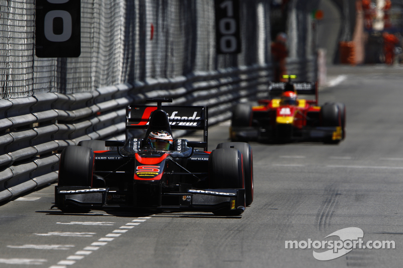 Stoffel Vandoorne, ART Grand Prix, vor Alexander Rossi, Racing Engineering