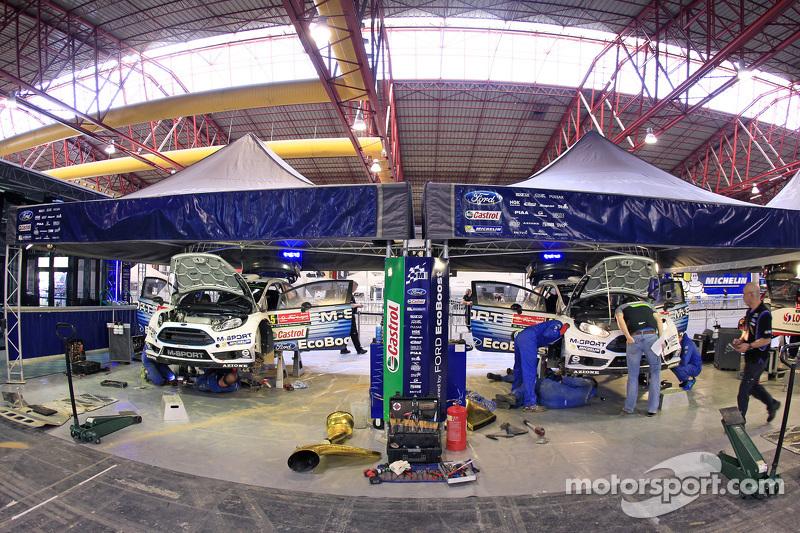 M-Sport Ford WRC, Teambereich