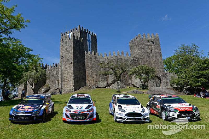 Sesi foto tim: Volkswagen Motorsport, Hyundai Motorsport, M-Sport Ford WRC, Citroën World Rally Team