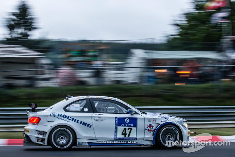 #47 TeamCoach-Racing BMW E82: Hans-Martin Gass, Heiko Hahn, Roland Konrad, Christian Vetter
