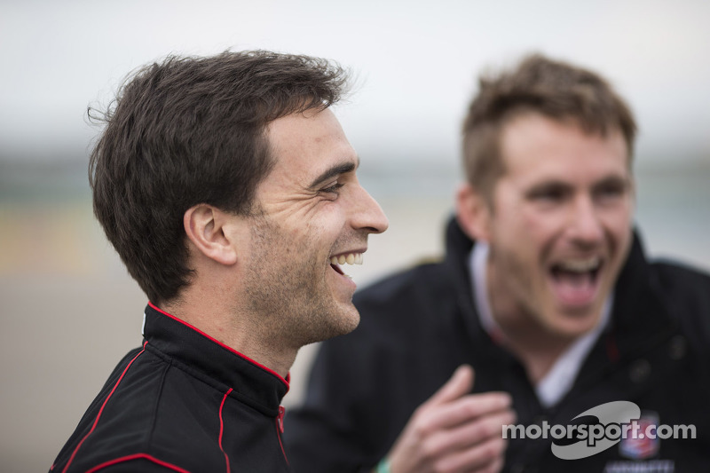 Jérôme d'Ambrosio, Dragon Racing and Scott Speed, Andretti Autosport