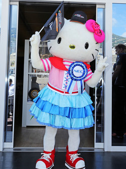 Hello Kitty, guest of the Sahara Force India F1 Team