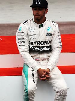 Lewis Hamilton, Mercedes AMG F1 di podium