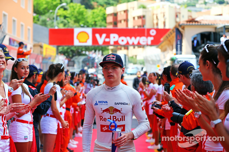 Max Verstappen, Scuderia Toro Rosso on the drivers parade