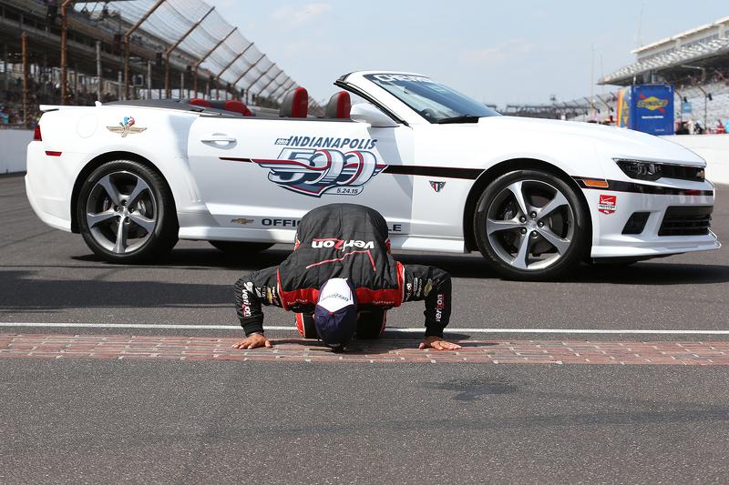 1. Juan Pablo Montoya, Team Penske, Chevrolet
