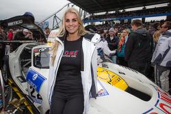 Rowe Racing grid girl