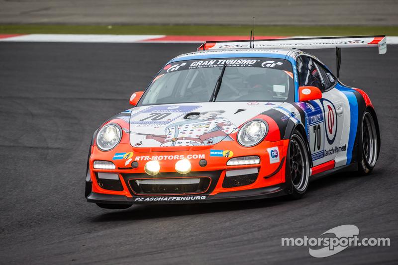 #70 Teichmann Racing, Porsche 997 GT3 Cup: Alex Autumm, Marc Hennerici, Dominik Brinkmann, Don Stephano
