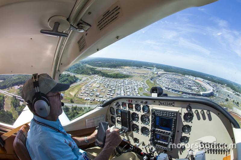 Der Flyover beim Charlotte 600