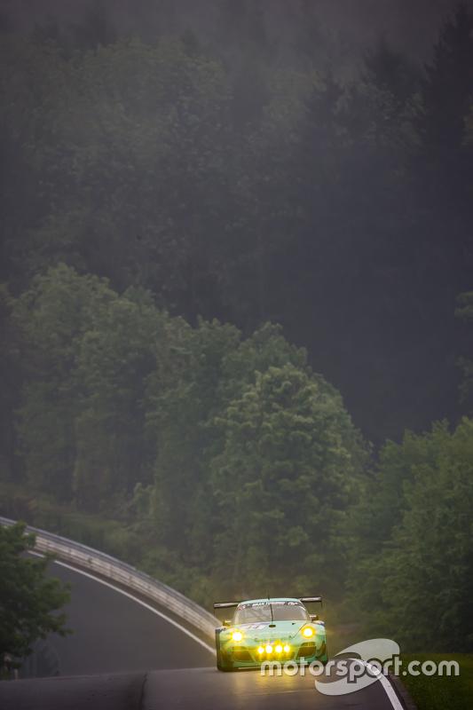 #44 Team Falken Tire, Porsche 997 GT3 R: Peter Dumbreck, Wolf Henzler, Martin Ragginger, Alexandré Imperatori
