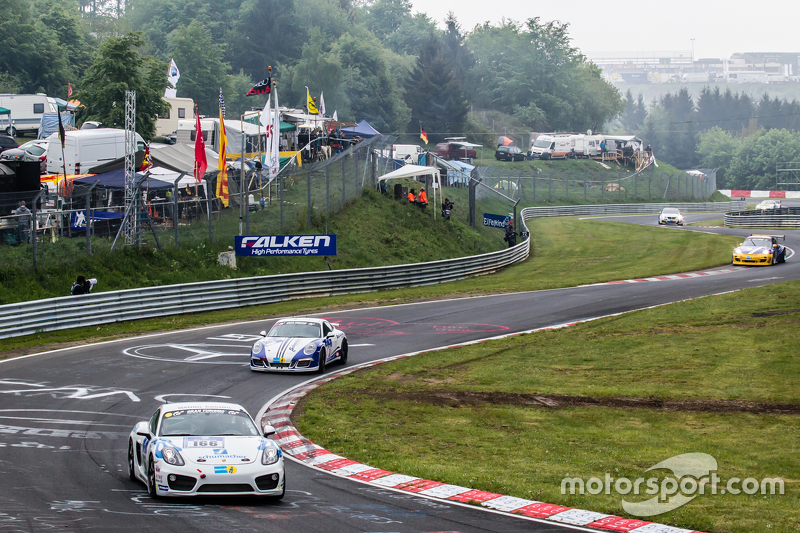 #166 Mathol Racing, Porsche Cayman S: Wolfgang Werber, Norbert Bermes
