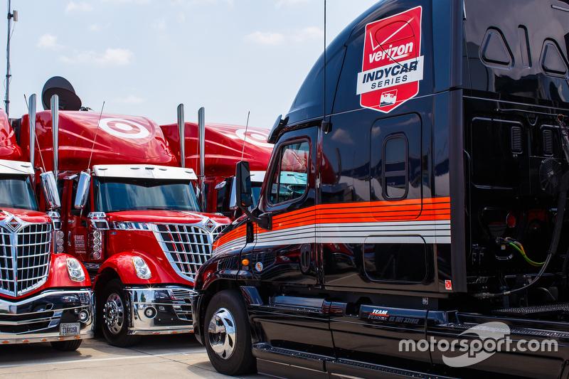 IndyCar haulers