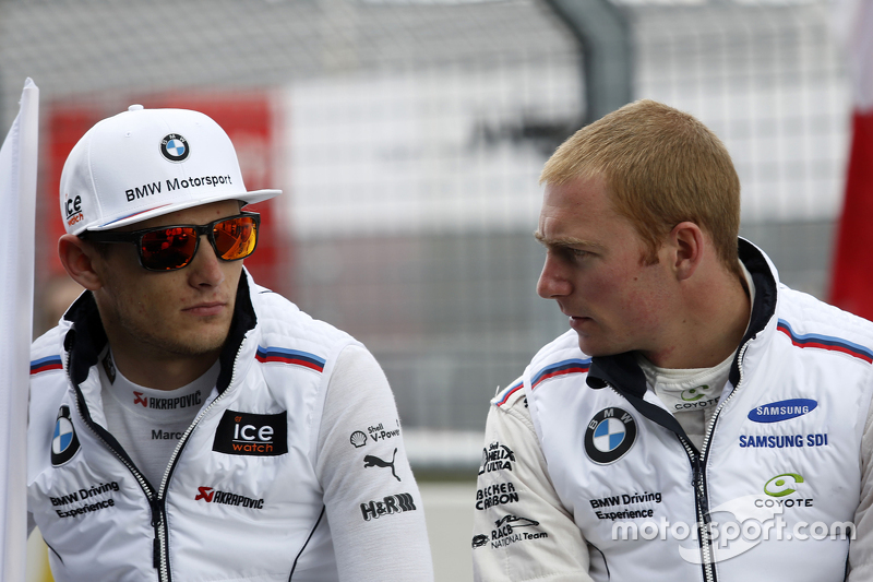 Marco Wittmann, BMW Team RMG BMW M4 DTM and Maxime Martin, BMW Team RMG BMW M4 DTM