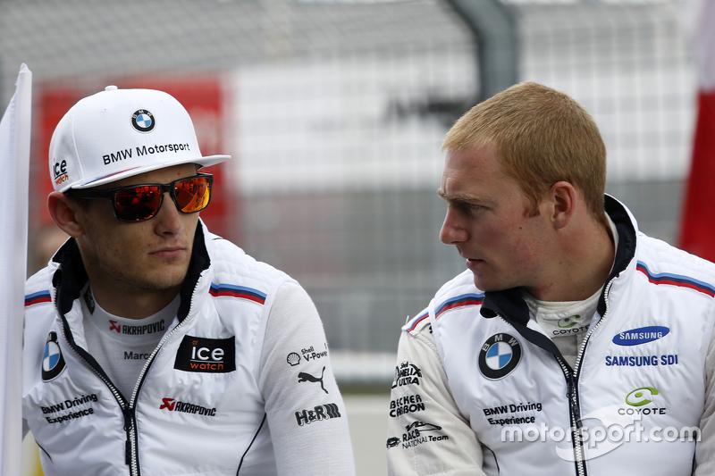 Marco Wittmann, BMW Team RMG, BMW M4 DTM, und Maxime Martin, BMW Team RMG, BMW M4 DTM