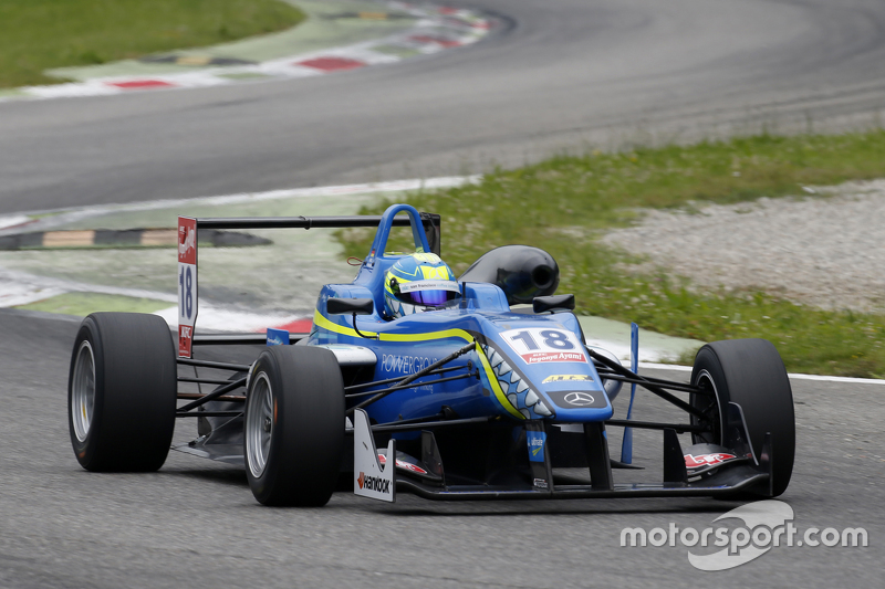 Nicolas Pohler, Double R Racing, Dallara Mercedes-Benz