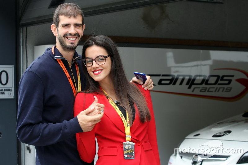 Dusan Borkovic und seine Frau