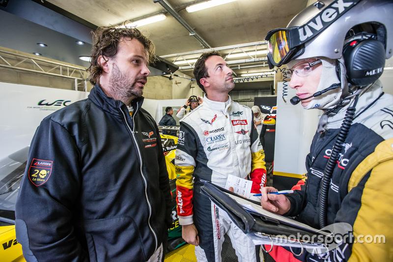 #50 Larbre Compétition Corvette C7.R: Крістіан Поулсен та Паоло Руберто