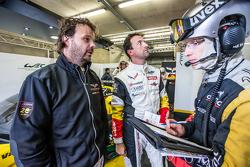 #50 Larbre Compétition Corvette C7.R: Kristian Poulsen and Paolo Ruberti
