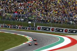 Андреа Янноне, Ducati Team та Марк Маркес та Дані Педроса, Repsol Honda Team та Валентіно Россі, Yamaha Factory Racing