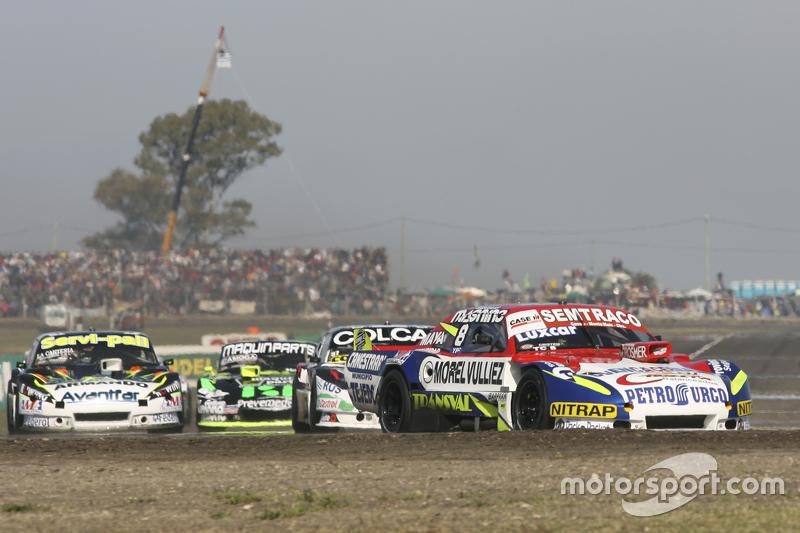 Juan Martin Trucco, JMT Motorsport, Dodge; Diego de Carlo, JC Competicion, Chevrolet, und Mauro Giallombardo, Maquin Parts Racing, Ford
