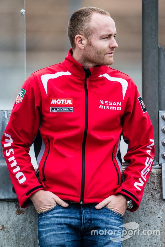 #23 Nissan Motorsports, Nissan GT-R LM NISMO: Olivier Pla
