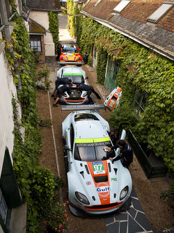Aston Martin Racing all' Hotel de France