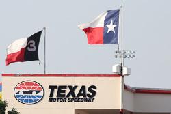 Texas Motor Speedway señalización y banderas