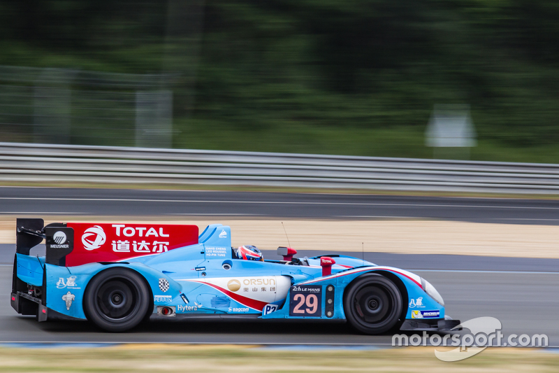 #29 Pegasus Racing, Morgan LM P2: Ho-Pin Tung, David Cheng, Leo Roussel
