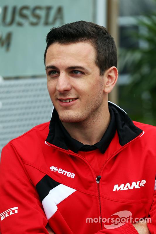 Fabio Leimer, Manor F1 Team, Ersatzfahrer