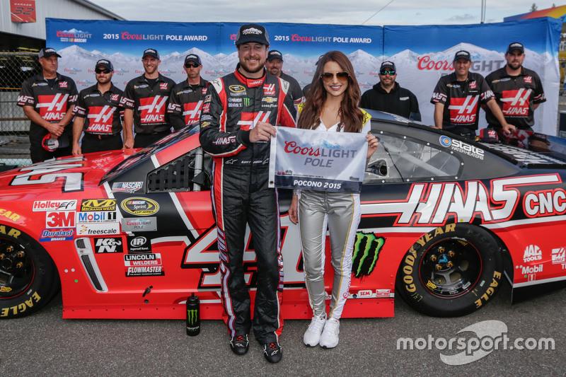 Pole-Sitter: Kurt Busch, Stewart-Haas Racing, Chevrolet