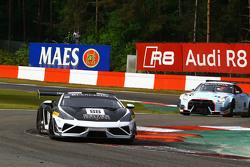 #88 Reiter Ingenieuring, Lamborghini Gallardo LP560-4 R-EX: Albert von Thurn und Taxis, Peter Kox