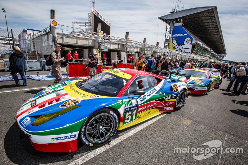 #51 AF Corse Ferrari 458 GTE