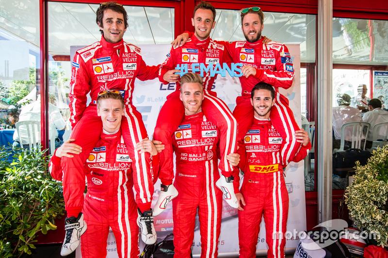 Rebellion Racing: Nicolas Prost, Mathias Beche, Nick Heidfeld, Alexandré Imperatori, Dominik Kraihamer, Daniel Abt
