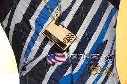 El ganador, Scott Speed, Andretti Autosport Volkswagen