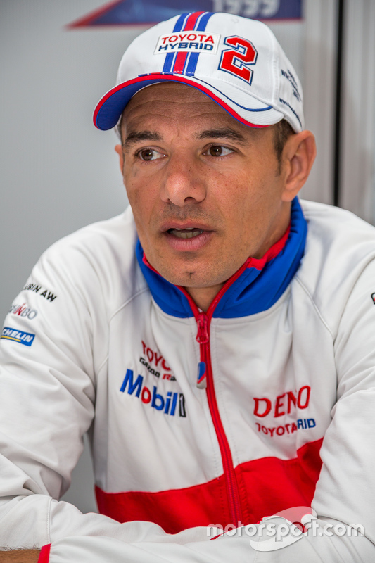 Toyota Racing: Stéphane Sarrazin