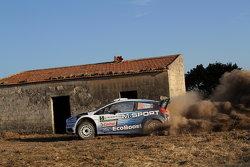 Елфін Еванс та Daniel Barrit, M-Sport Ford Fiesta WRC