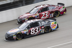 Matt DiBenedetto, BK Racing Toyota and Jeb Burton, BK Racing Toyota