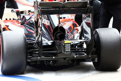 McLaren MP4-30 dettaglio diffusore posteriore