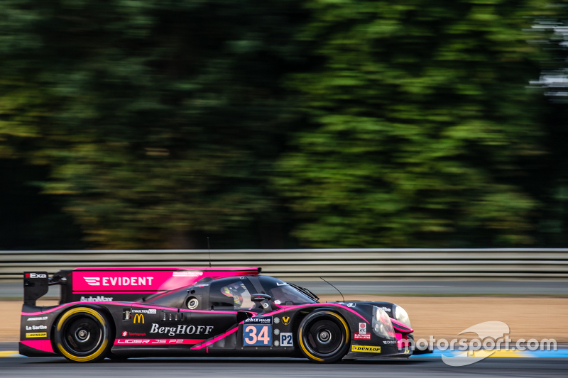 #34 OAK Racing, Ligier JS P2: Chris Cumming, Kevin Estre, Laurens Vanthoor