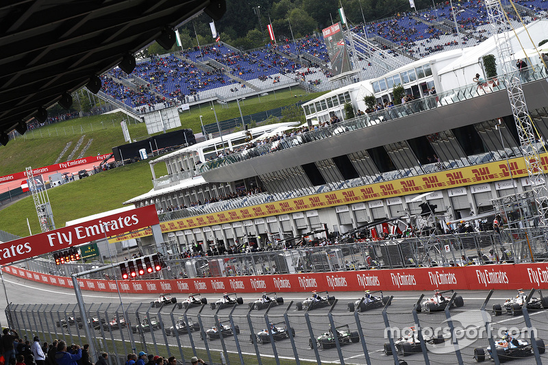 GP3 grid wait for lights to go out