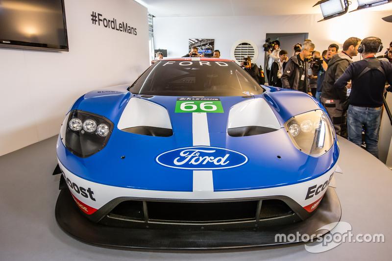 Der neue Ford GT für 2016, der dann von Chip Ganassi Racing bei den 24 Stunden von Le Mans eingesetzt wird