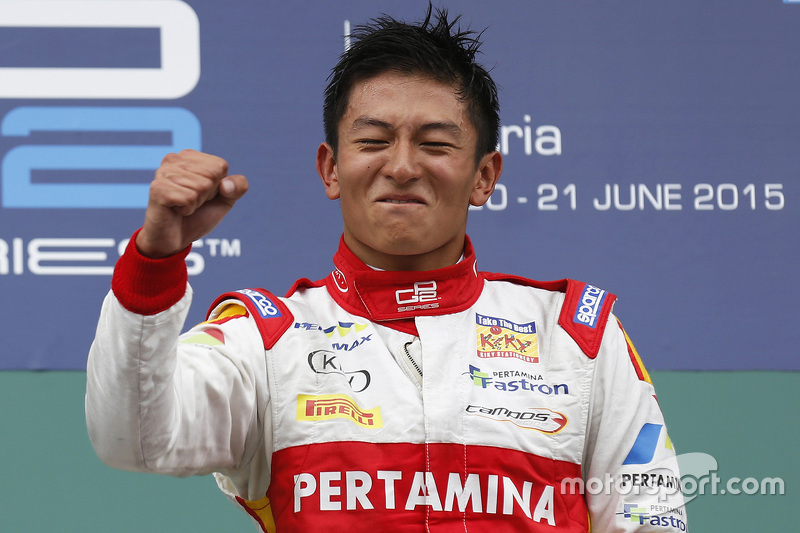 1. Rio Haryanto, Campos Racing