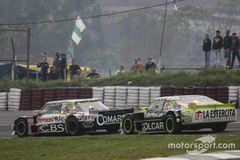Camilo Echevarria, Coiro Dole Racing, Torino, und Agustin Canapino, Jet Racing, Chevrolet
