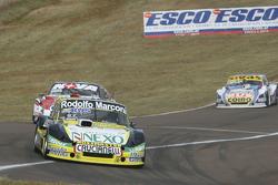 Omar Martinez, Martinez Competicion, Ford; Matias Rossi, Donto Racing, Chevrolet, und Mauricio Lambiris, Coiro Dole Racing, Torino