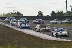 Mathias Nolesi, Nolesi Competicion Ford; Leonel Pernia, Las Toscas Racing, Chevrolet; Matias Rodriguez, UR Racing, Dodge, und Santiago Mangoni, Laboritto Jrs, Torino