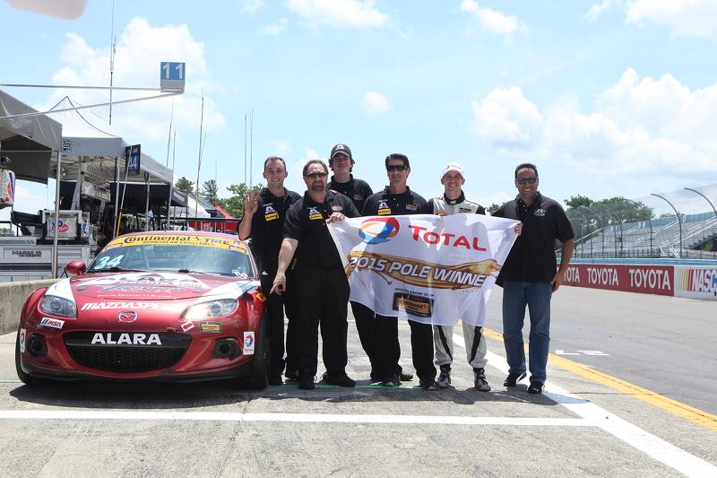 ST-Pole-Sitter: #34 Alara Racing, Mazda MX-5: Christian Szymczak, Justin Piscitell